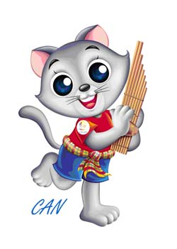2007 SEA Games Mascot: CAN