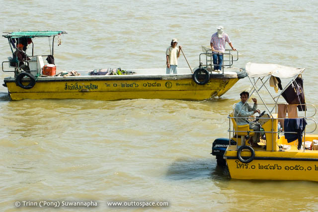 River Garbo – collecting rubbish in Chao Phraya River