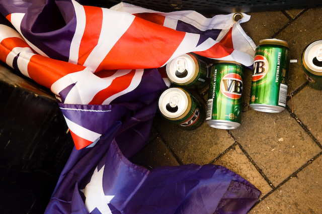 Pride And Beer on Australia Day