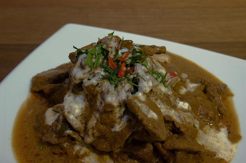 Kangaroo Panang Curry