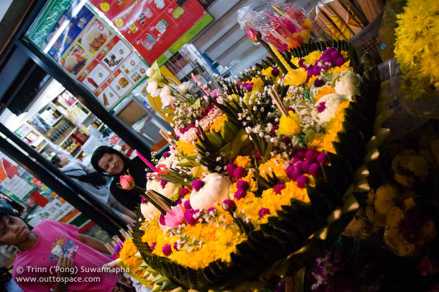 A big krathong for a big spender`