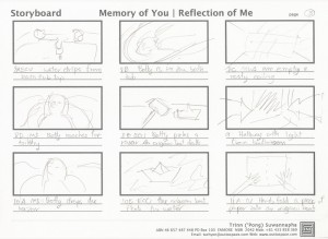 Memory of You | Reflection of Me Storyboard Page 3