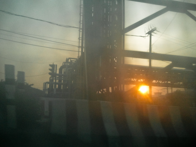 Dawn at Rayong Refinery