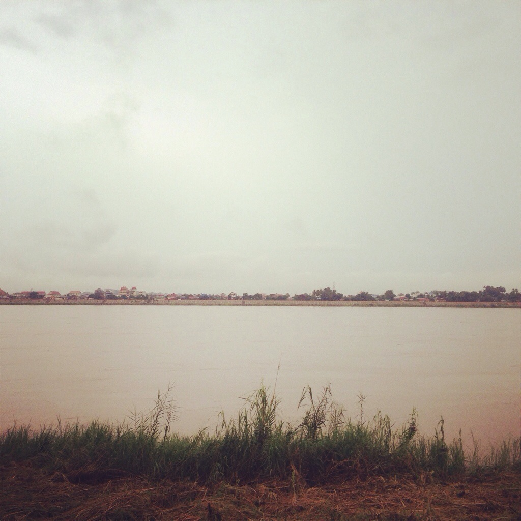 Morning Jog by the Mekong River