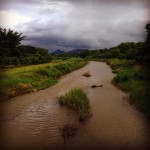 Pai River and Rain Cloud