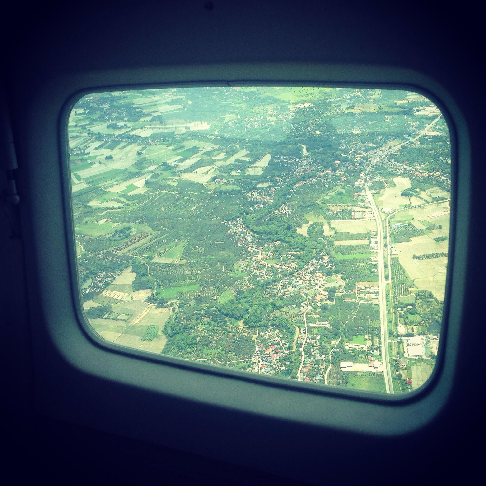 Approaching Chiang Mai