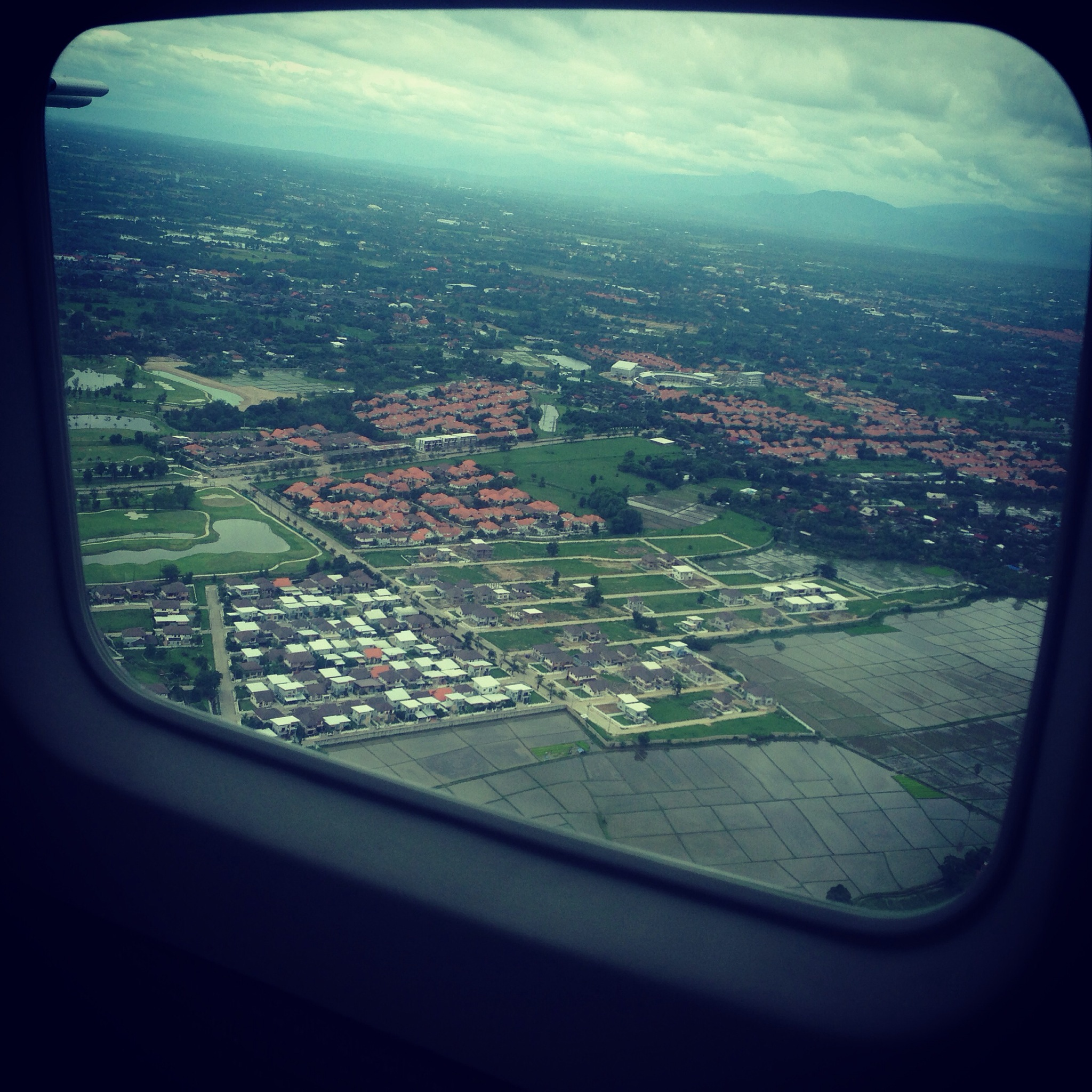 Rice Fields and Housing Estates