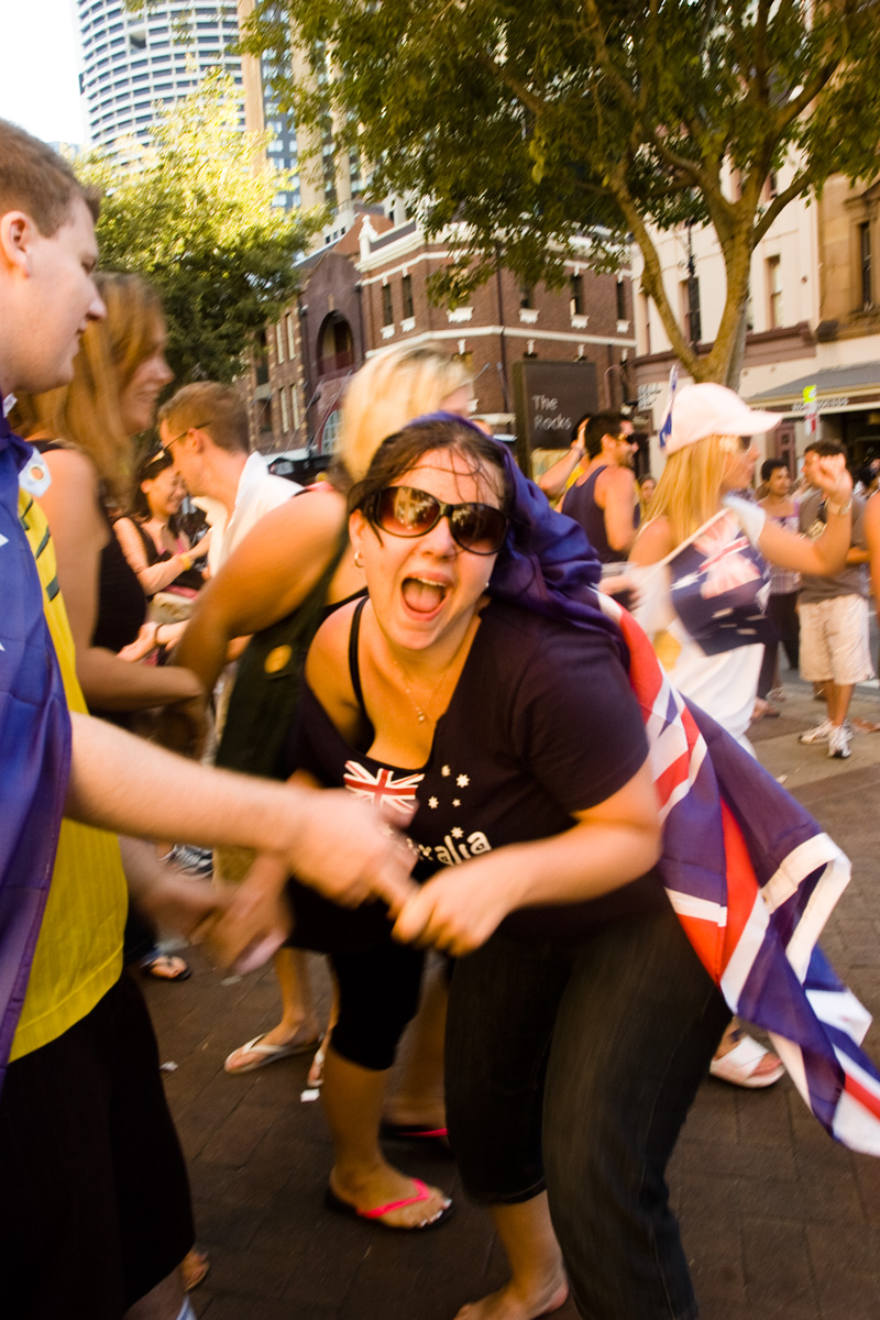 Celebrating Australia Day, 26 January 2008
