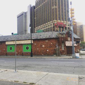 Abandoned Gaslight Restaurant
