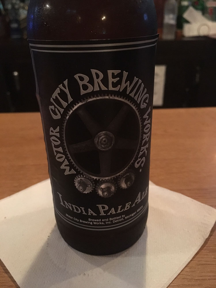 India Pale Ale by Motor City Brewing Works