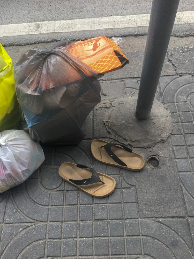 Just Follow the Plastic Bag I