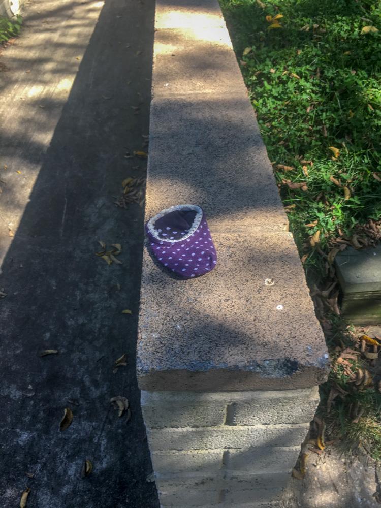 Purple Was Left Alone