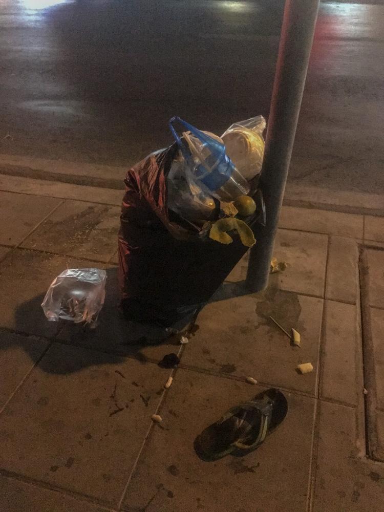 Just Follow the Plastic Bag IV