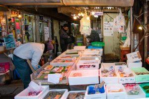 Retailed fish