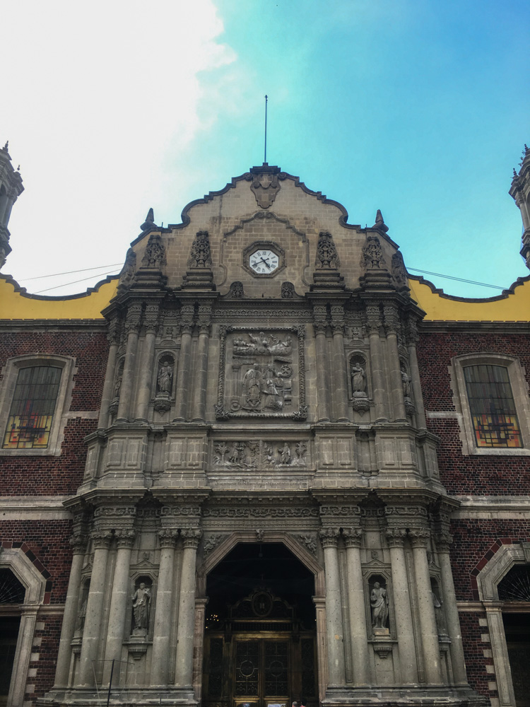 The Old Basilica exterior