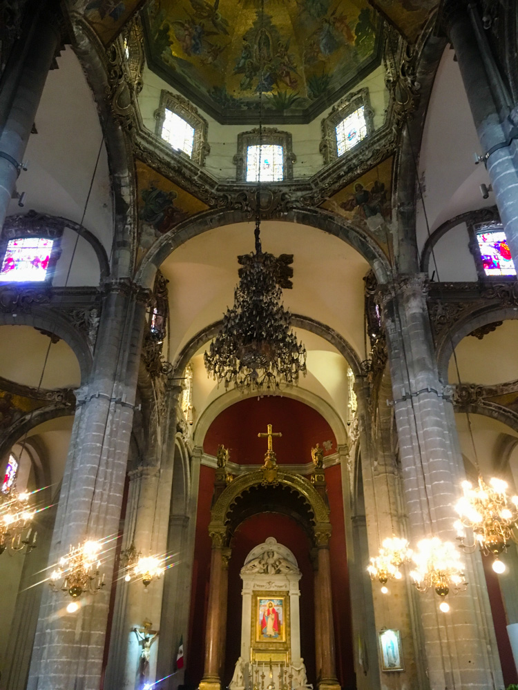 The Old Basilica interior