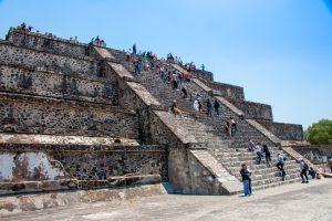 Climbing Pyramid of the Moon