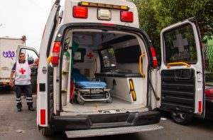 Mexican Red Cross ambulance