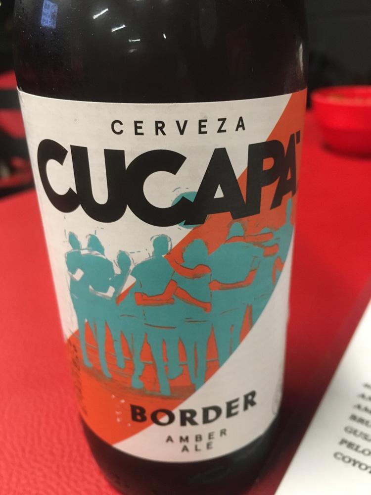 Cucapá Amber Ale by Cervecería de Baja California