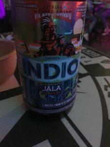 Indio Beer label 2