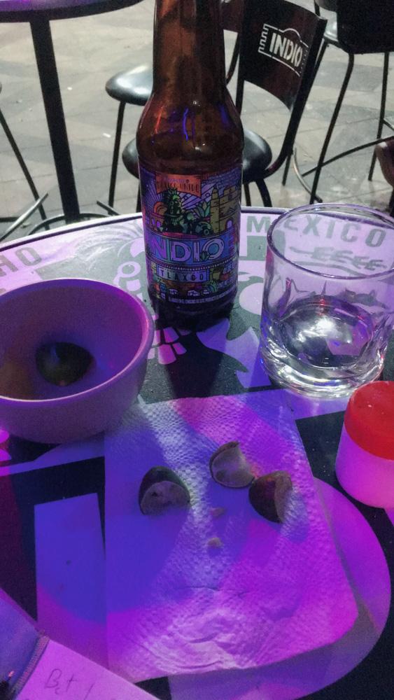 Indio Beer & tequila