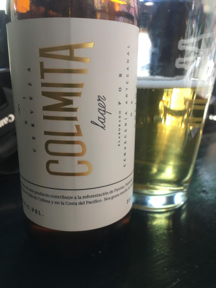 Colimita lager by Cervecería de Colima
