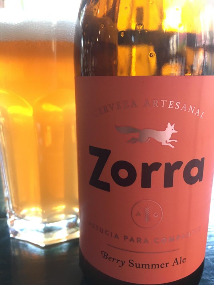 Berry Summer Ale by Cervecería Zorra