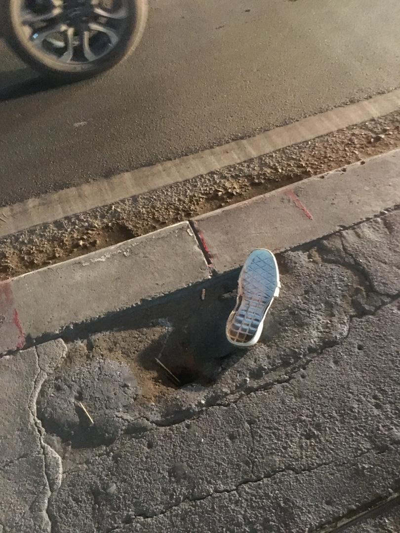 Fading heel