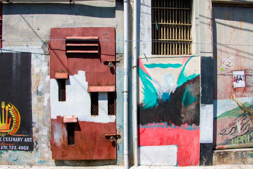 Painted Door and Murals