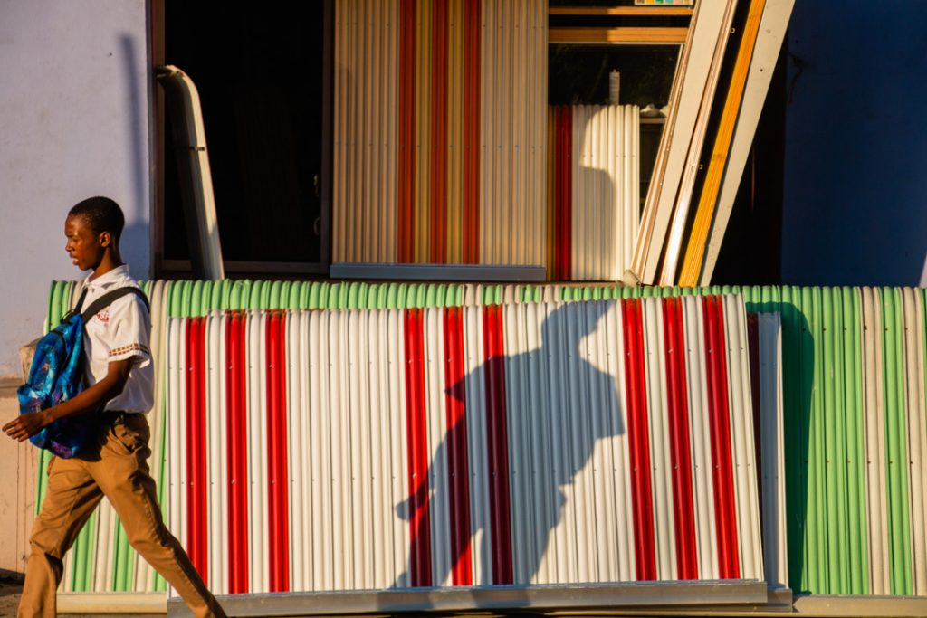 Shadow on Awning