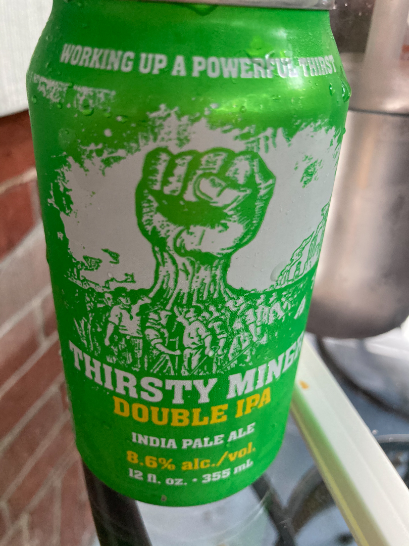 Thirsty Miner Double IPA