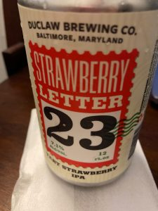 Strawberry Letter 23 sour IPA